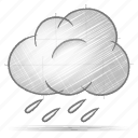 engineering, hand drawn, sketch, weather icon
