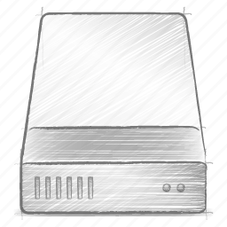 engineering, hand drawn, hdd, sketch icon