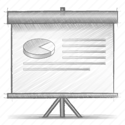 engineering, hand drawn, presentation, sketch icon