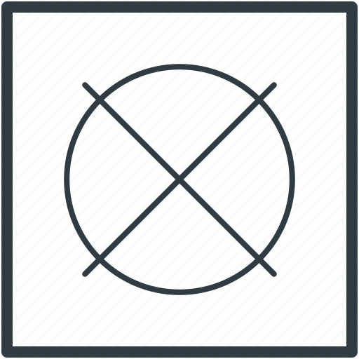 cancel, exit, quit, restriction, sign out icon