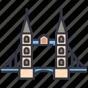 architecture, bridge, england, landmark, london, river, tower
