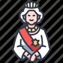 royal, crown, elizabeth, british, kingdom, united, queen