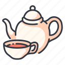 cup, drink, health, healthy, herbal, tea, teacup icon
