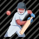 sportsman, competition, batsman, bat, player, sports, cricket