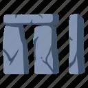 ancient, england, landscape, monument, prehistoric, rock, stonehenge icon