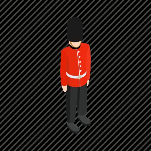 england, guard, isometric, london, palace, soldier, uk icon