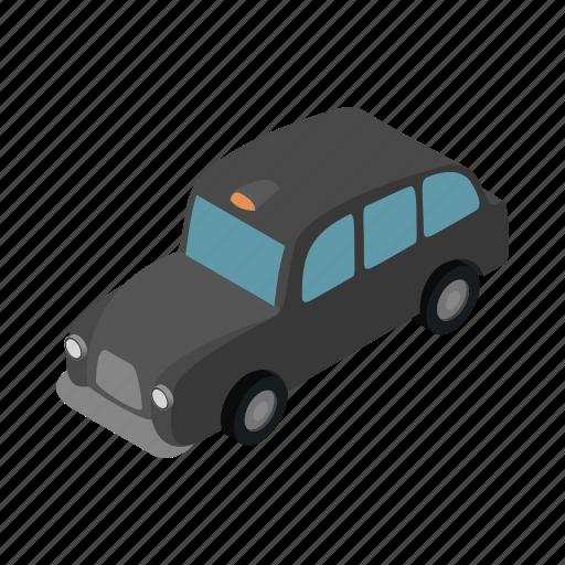 cab, car, isometric, london, taxi, transport, travel icon