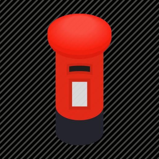 british, england, english, isometric, london, mail, mailbox icon