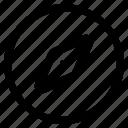 compass, direction, enterprice, location icon