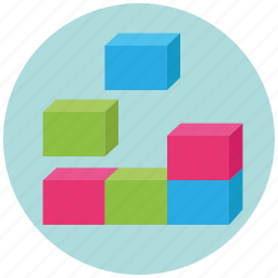 blocks, bricks, building block, business, component, components, construction icon