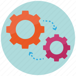config, engineering, gears, mechanism, methodology, technology, tool icon