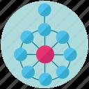adm, cycle, design, round, togaf icon