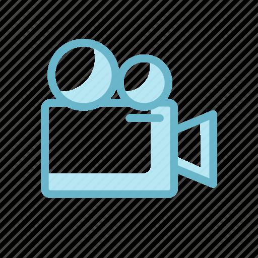 camera, camerist, entertaiment, movie camera, old, video icon