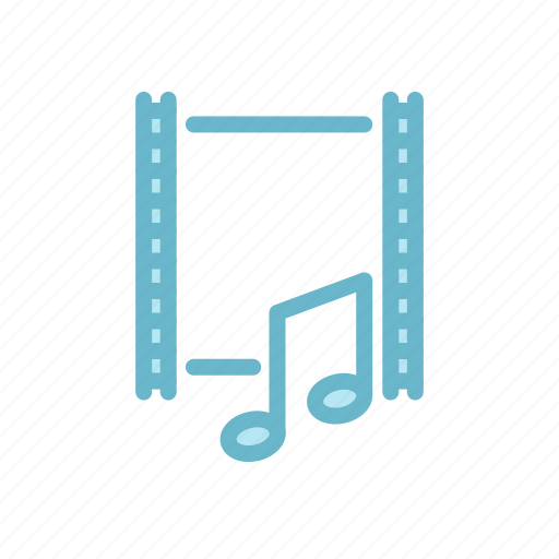 Entertaiment, movie, music, sound, soundtrack, video icon - Download on Iconfinder