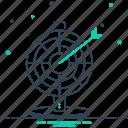 arrows, board, darts, darts board, goal, target icon