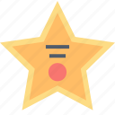 fame, walk, achievement, award, celebrity, star icon
