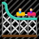 coaster, entertainment, park, rail, ride, roller