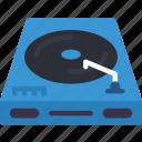 entertainment, music, player, recorder, vinyl