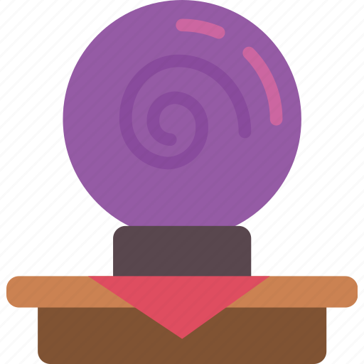 crystal ball, entertainment, psychic icon