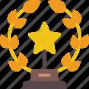 achievement, award, entertainment, trophy