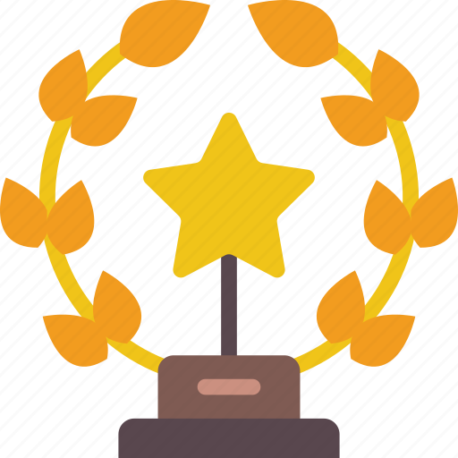 achievement, award, entertainment, trophy icon