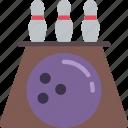 bowling, entertainment, skittles