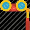binoculars, entertainment, performance, stage, theatre