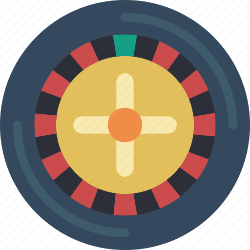 entertainment, gamble, game, play, roulette icon