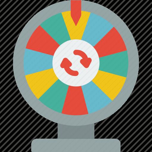 entertainment+, game, prize, show, wheel icon