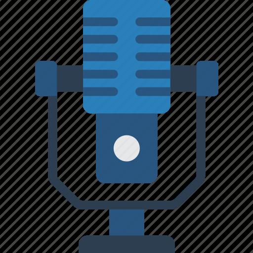 entertainment, microphone, music, radio, sing, singer icon