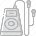 entertainment, headphones, mp3, music, player icon
