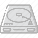 entertainment, music, player, recorder, vinyl icon