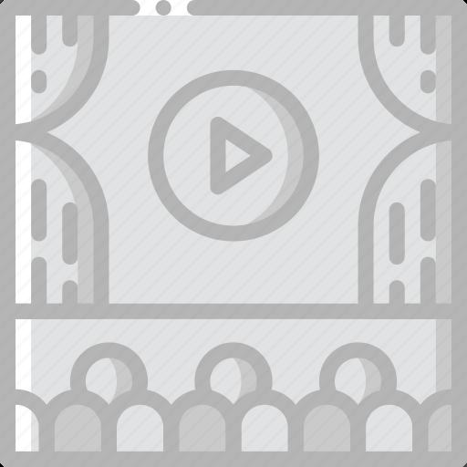 Cinema, entertainment, film, movie, theatre icon - Download on Iconfinder