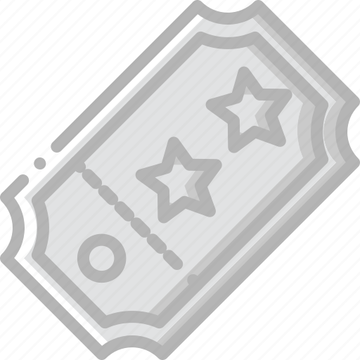 cinema, entertainment, film, movie, show, ticket icon