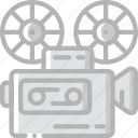 cinema, entertainment, film, movie, projector icon