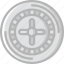 entertainment, gamble, game, play, roulette icon