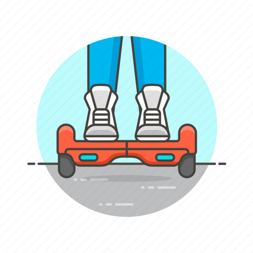 drive, entertainment, hoverboard, ride, two, urban, wheel icon