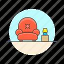 entertainment, lobby, seat, armchair, relax, sit, sofa, wait