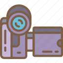 camcorder, entertainment, recorder, video icon