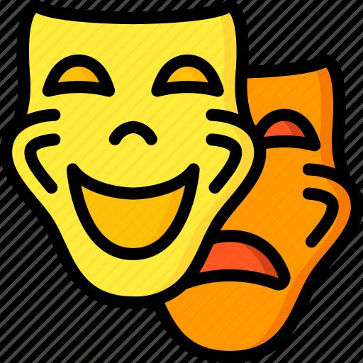 entertainment, film, movie, play, theatre icon