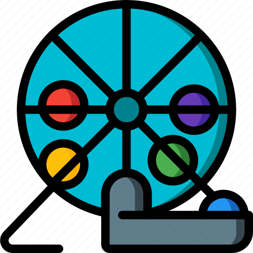 bingo, entertainment, game icon
