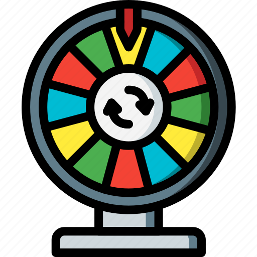 entertainment, game, prize, show, wheel icon