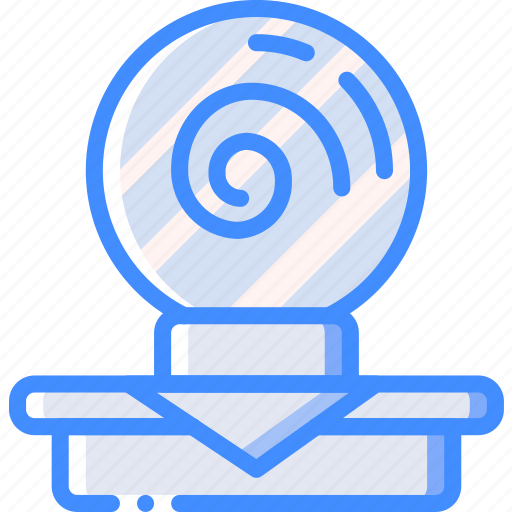 Crystal ball, entertainment, psychic icon - Download on Iconfinder