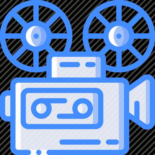 cinema, entertainment, film, movie, projector icon
