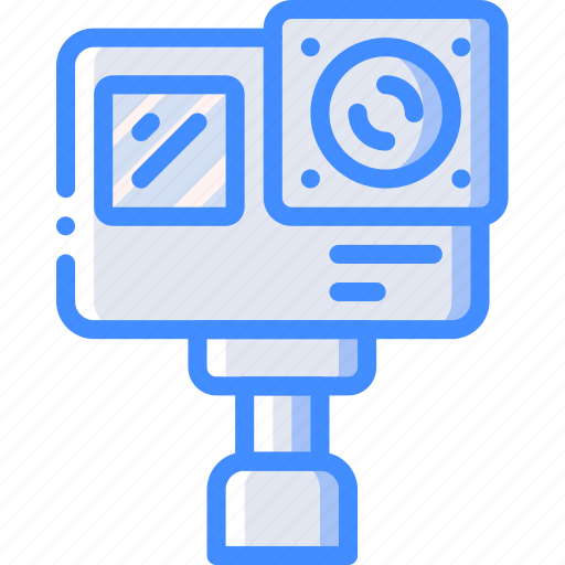 Action, camera, entertainment, go, pro, record, sports icon - Download on Iconfinder