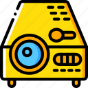 entertainment, film, movie, projector icon