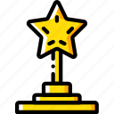 achievement, award, entertainment, trophy icon