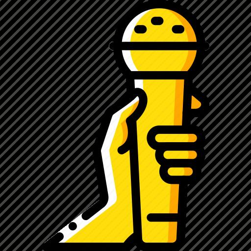 entertainment, karaoke, microphone, sing, singing icon