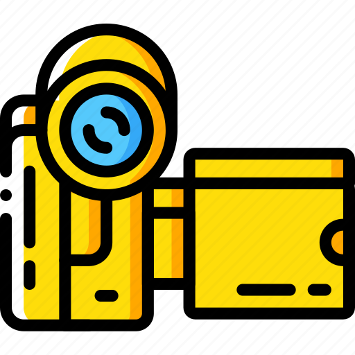 camcorder, entertainment, recorder, video icon