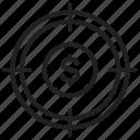 target, aim, objective, goal